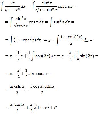 ejercicios resueltos integración por sustitución o cambio de variable